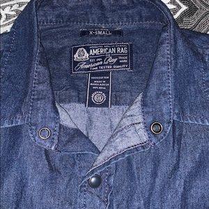 Men's American rag Jean button down